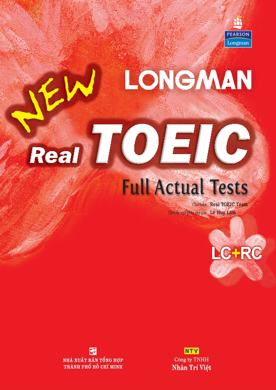 Kết quả hình ảnh cho new real toeic full actual tests listening + reading